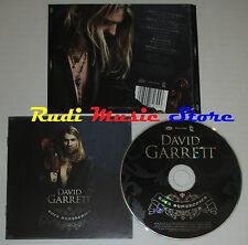 CD DAVID GARRETT Rock symphonies 2010 germany DECCA4782645 mc lp dvd vhs