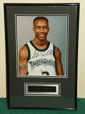STEPHON MARBURY AUTOGRAPH - FRAMED 8 x 10 PICTURE WITH COA