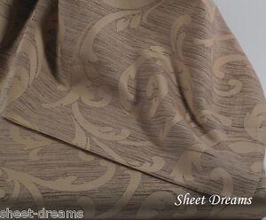 Peacock Alley Couture 100% Egyptian Cotton Scroll Duvet Queen Duvet Shams Set