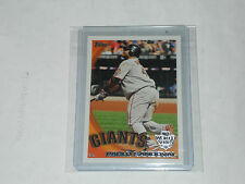 PABLO SANDOVAL #SFG4 SF Giants 2010 World Series Champion TOPPS card nrmt-mt