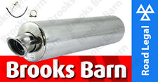 EXC101EM Z750/S 04/06/12 Alloy Round Slip-On Viper Exhaust Can E-Mark