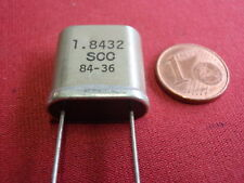 QUARZ 1,8432Mhz = 1843,2Khz    gr. BAUFORM  X-TAL                     22891-41