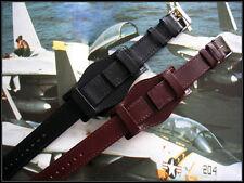 Open End BUND Flieger Pilot Mil watchband IW SUISSE 10-12-14-16-18-19-20-22-24mm