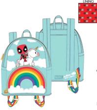Loungefly Marvel Deadpool - Unicorn Rainbow 30th Mini Backpack