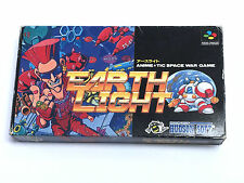 EARTH LIGHT Japanese SNES Nintendo Super Famicom EARTHLIGHT  BOXED JP JAP SFC