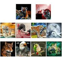 5D DIY Full Drill Diamond Painting Animal Cross Stitch Embroidery Mosaic Kit Art