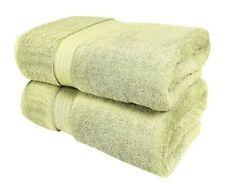 "2pk Extra Large Bath Sheet Towel Soft Absorbent Cotton 34"" x 70"" Sage Green"