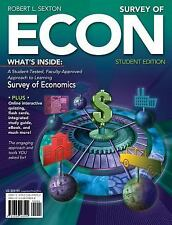 Survey of ECON by Robert L. Sexton - Book Only (2011-2012 Edition)
