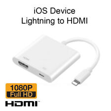 Lightning To HDMI Digital AV TV Cable Adapter For Apple iPad iPhone6 7 8 X plus