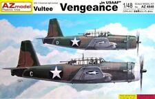VULTEE VENGEANCE A-35 (USAAF MARKINGS) 1/48 AZ RARE!