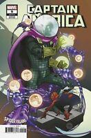 Captain America Comic 9 Spider-Villains Variant First Print 2019 Kubert Marvel