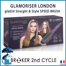 GLAMORISER LONDON gla024 Straight & Style SPEED BRUSH prise UK et EU