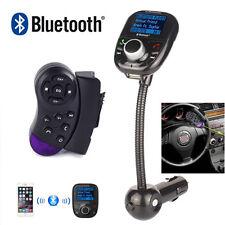 Control del volante + LCD MP3 Bluetooth transmisor Radio FM Modulador de jugador
