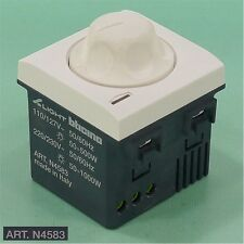 NEW bticino AXOLUTE N4583 Rotary Knob Dimmer Switch *OPEN BOX!*