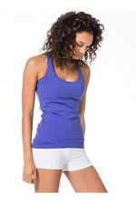 NWT Women's Hard Tail Forever Long Skinny Racer Back Tank Top Size M New