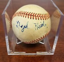 Lloyd Hittle Autographed Baseball - Senators - RARE - dec. '12