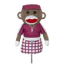 Creative Covers for Golf Sock Monkey Girl golf Driver HeadCover