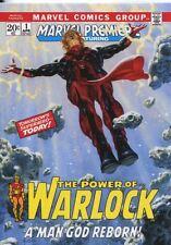 Marvel Masterpieces 2016 ''What If'' Base Card #23 Adam Warlock #/ 1499