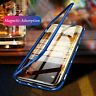 360° Magnetic Adsorption Tempered Glass Case Cover For iPhone 11 Pro Max XR 8 7+