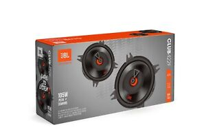 "NEW JBL 105 Watts Vibrant CLUB 422F 4"" 2-Way Car Coaxial Speakers Silk Tweeters"