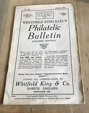 Booklet 1940 Whitfield King & Co.'s Philatelic Bulletin Stamp Collecters