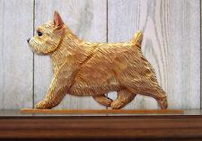 Norwich Terrier Sign Plaque Wall Decor Wheaten