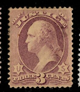 O27 Official Stamp United States mint well centered cv $310