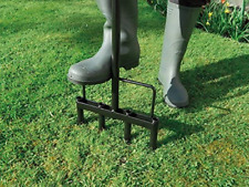 More details for garland heavy duty hollow tine lawn aerator