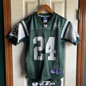 Darrelle Revis New York Jets NFL Football Jersey ON FIELD Reebok Youth Medium