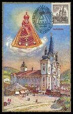AUSTRIA MK 1957 MARIAZELL BASILIKA MAXIMUMKARTE CARTE MAXIMUM CARD MC CM h0298