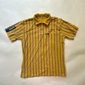 IKEA Uniform Employee Men Polo Shirts Yellow Size W46 L29