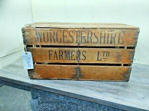 VINTAGE HEN CRATE CARRY BOX POULTRY FARMING ANTIQUE CHICKEN CARRIER FREE P&P