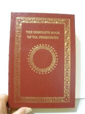 The Complete Book of U.S. Presidents incl/ G W Bush - Easton Press Full Leather