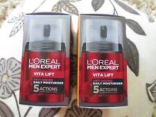 BNIB/BOGOFdeal!-L'Oreal Men Expert Vita lift antI-ageing moisturiser 50ml-2sent!