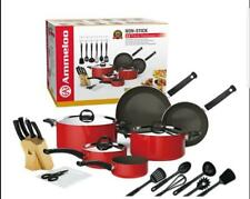 Ammeloo 22 pieces cookware set (NON STICK)