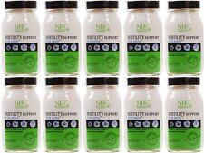 Práctica de salud natural de la fertilidad Soporte para hombre - 90 cápsulas (paquete de 10)