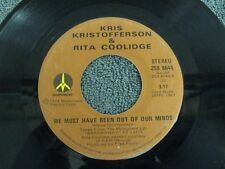 Kris Kristofferson Rita Coolidge sweet susannah / we must have been out of our m