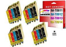 20 cartuchos tinta NonOem XL para Epson Stylus dx4200 dx4250 dx4800 dx4850