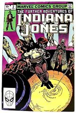 """THE FURTHER ADVENTURES OF INDIANA JONES"" Issue #2 (Feb, 1983) (Marvel Comics)"