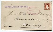 Rep de Honduras stationery Tegucigalpa to Hamburg Germany 13.4.1895