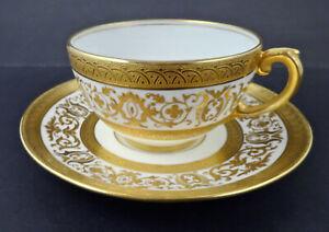 Antique Coalport Tea Cup & Saucer, Made for Tiffany