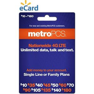 METRO PCS  $30 Prepaid Refill  Fast Direct Refill to your MetroPCS Mobile number