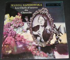 Landowska - Treasury of Harpsichord Music RCA 630.462 lp FRANCE 50's