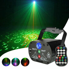 60 Patterns Projector Led Rgb Laser Stage Light Dj Disco Party Lighting Xmas