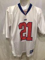 reebok large mens jersey NFL BARBER 21 giants mesh jersey