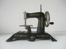Rare Muller Regina toy sewing machine full body