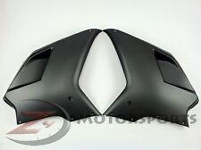 Ducati 848 1098 1198 Side Upper Mid Fairing Cowl Panel 100% Carbon Fiber Matte