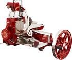 Berkel Volano B114 Food Slicer/Red/Manual Flywheel, Luxury, Premium