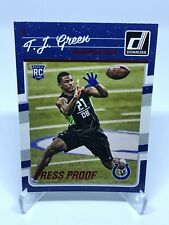 2016 Panini Donruss T.J. Green RC Press Proof RED #343 Indianapolis Colts