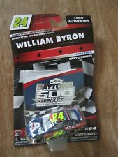 William Byron #24   Axalta NASCAR AUTHENTICS Sealed New In Package!
